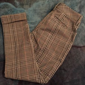 Pants - Vintage plaid pants